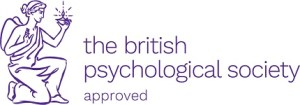 British Psychological Society approved logo
