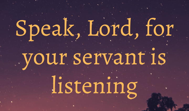 Hearing from God in despair