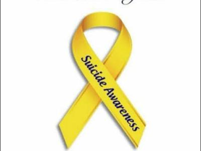 Suicide awareness- end the stigma.Awareness month September, awareness day 10th
