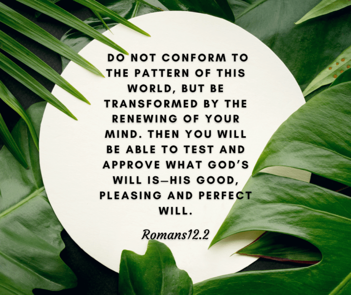 overcome negative mindsets and be transformed by the renewing of your mind
