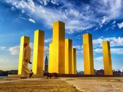Sky Over Nine Columns 4