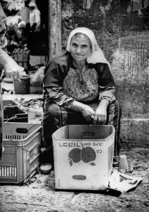 Palestinian lady, Old City , Jerusalem