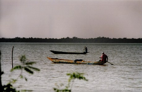 Fishermen on the River Gambia, 2000