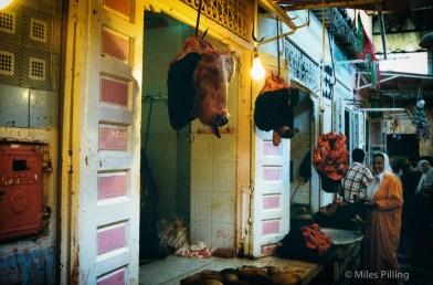 Moroccan butchers, 1997