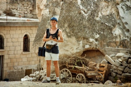 Miles as a (much) younger photographer, Turkey, 1992