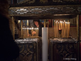 Greek Orthodox Easter service
