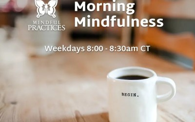 Morning Mindfulness Schedule (week of 5/17)
