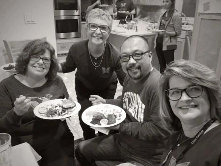 Cathy, Vi, Kiljoong & Mary