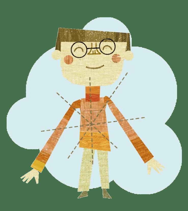 teacher standing