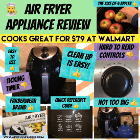 Air Fryer Review Summary Image