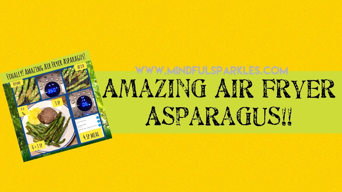 🌱Amazing Air Fryer Asparagus!