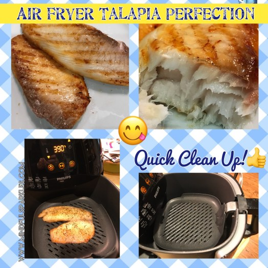 Air Fryer Tilapia Perfection