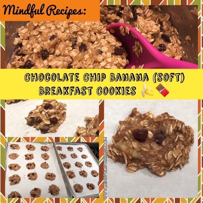 Chocolate Chip Banana Oatmeal Cookies