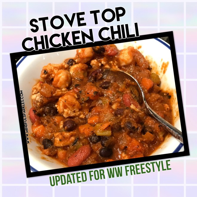 Stove Top Chicken Chili - Updated for WW Freestyle