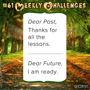 Inspirational Post:  Dear Future, I am Ready