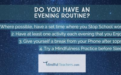 Evening Routine for Teachers