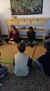 upper elementary pebble meditation