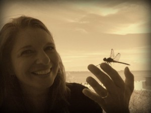 Linda M and the dragonfly