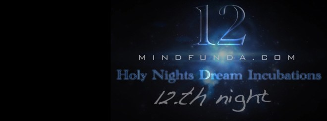 12 holy days - 12th night
