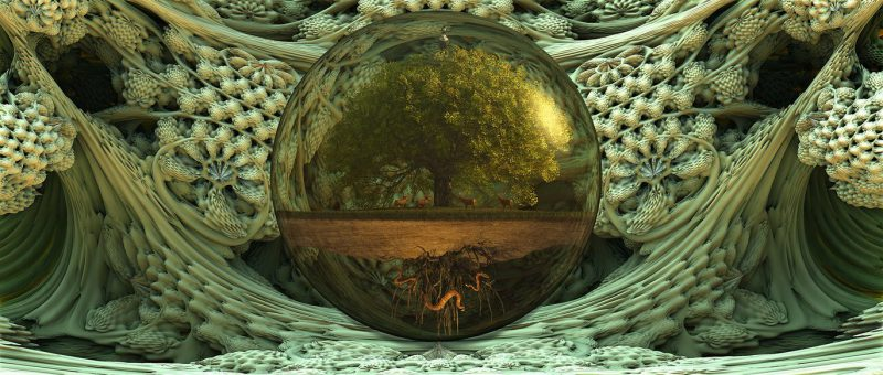 Yggdrasil: Tree of Life, Portal to Nine Worlds