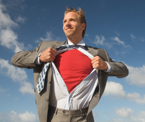 Become a superhero with training? Errrrm.... (Credits: MindMappingSoftware)