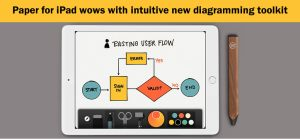 Paper for iPad wows with intuitive diagramming toolkit