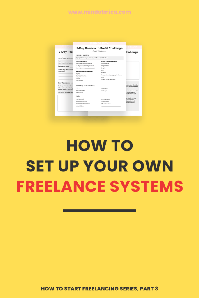 Set up freelance systems the right way so you can get more done by doing less. Say goodbye to spending 90% of your time answering emails from prospects who might not even book your services.
