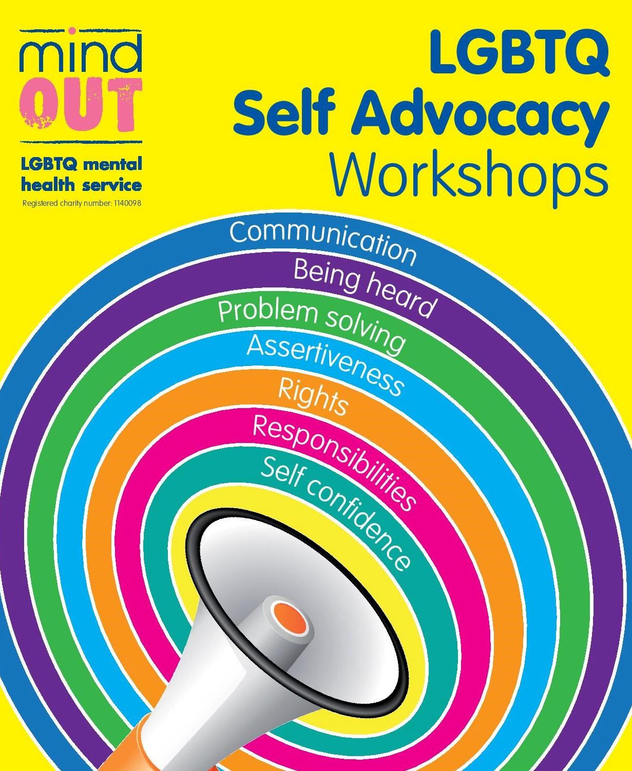 Self-Advocacy Workshop leaflet