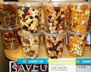 Organize your snack in you cup holder