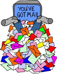 To much email can be harmful