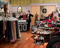 Clothing can be sold through consignment stores