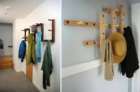 Hooks are great for keeping things off the floor