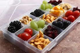 Box with finger foods