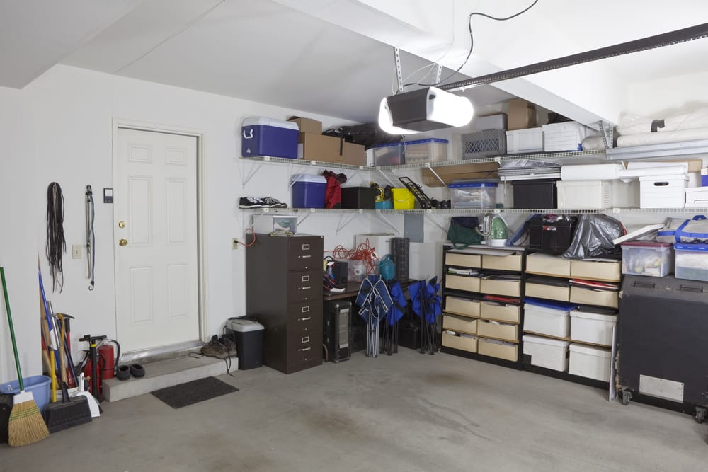Use vertical space to optimum your storage space.