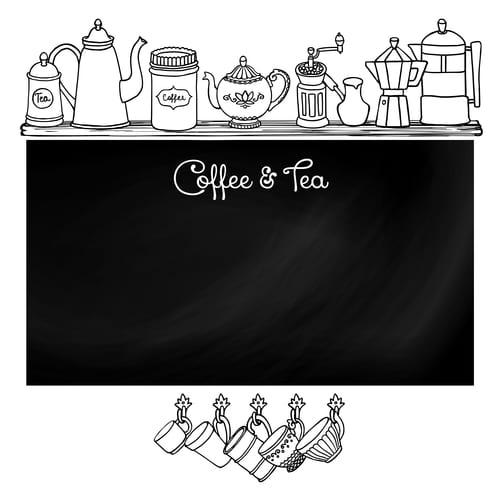 Plan a drink center in your kitchen