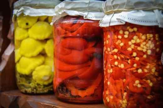 mason jars belong in a cellar