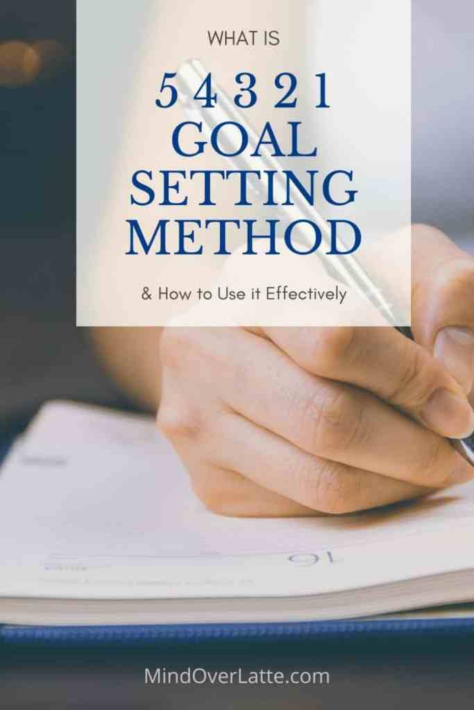 What is 5 4 3 2 1 Goal Setting Method and How to Use it Effectively. #goals #goalsetting #54321goalsetting #success #focus #dreams #sction #tasks #mindoverlatte