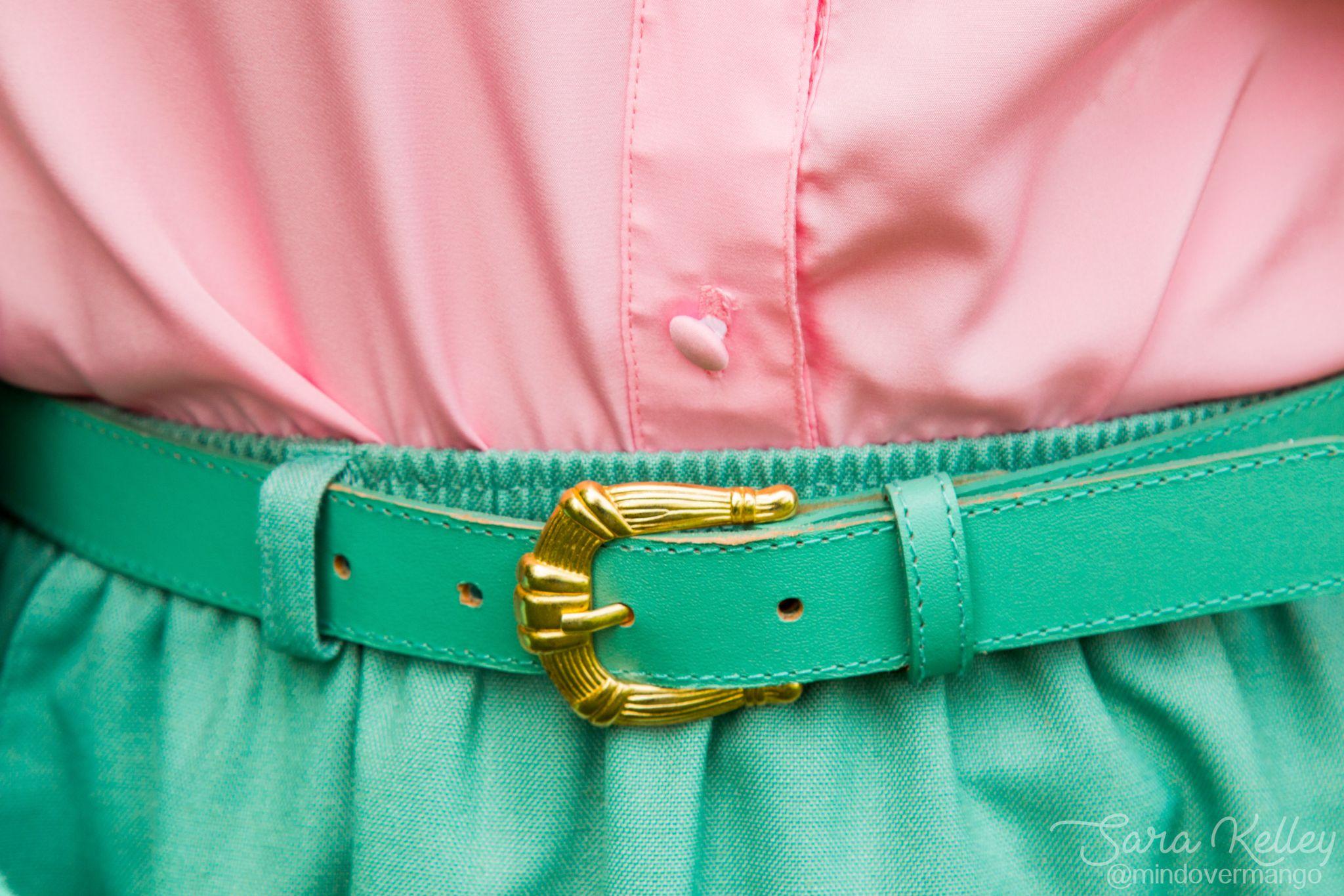 Mint Pencil Skirt