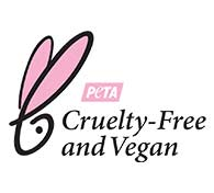 PETA Beauty Vegan Without Bunnies Certified