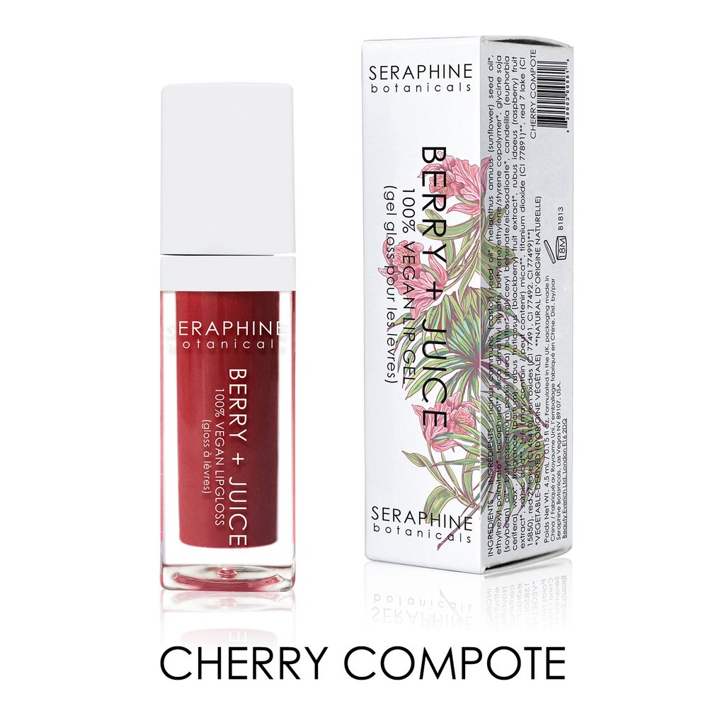 Seraphine Botanicals Cherry Compote Lip Gel