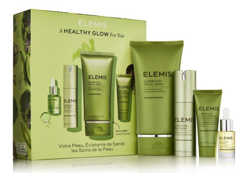 ELEMIS Superfood A Healthy Glow For Your Skincare Set