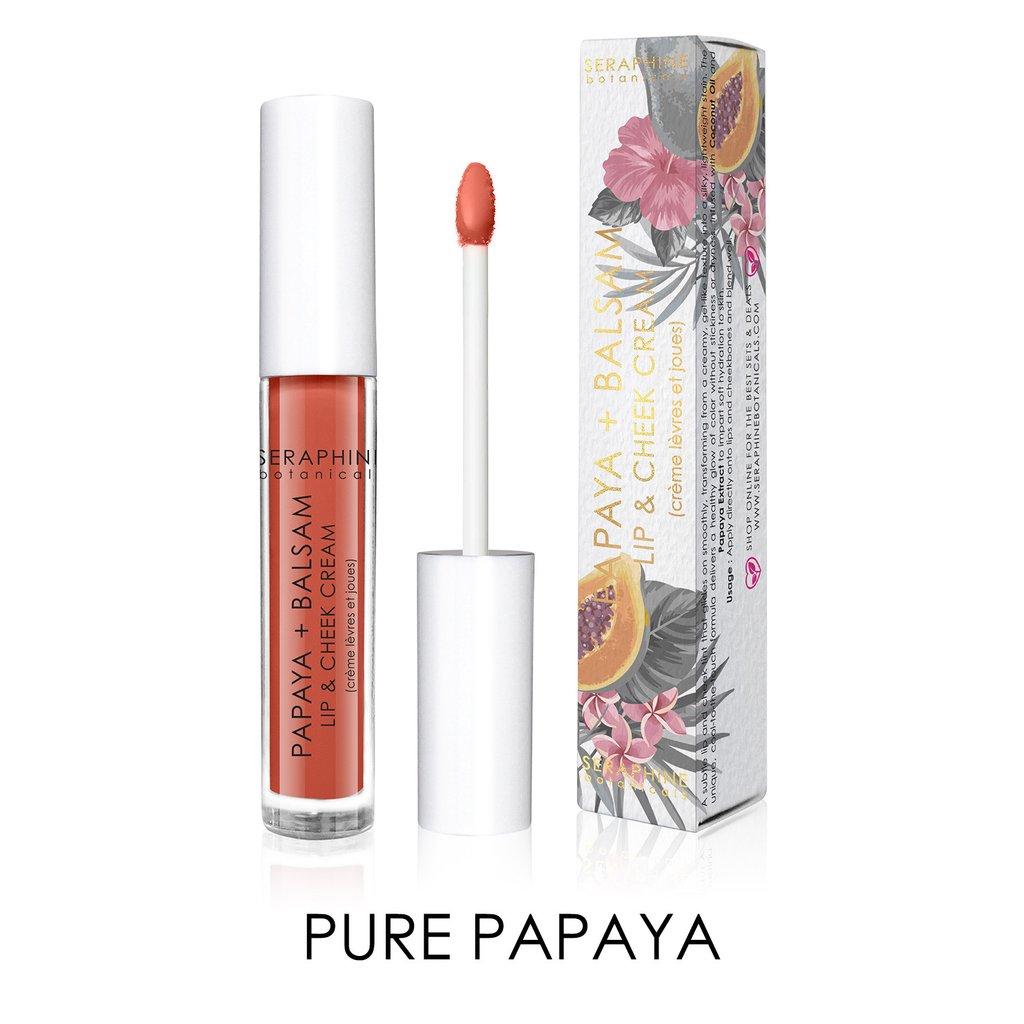 Seraphine Botanicals Pure Papaya Lip Cheek Cream