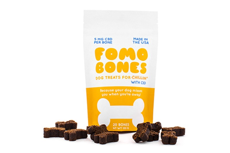 FOMO Bones CBD Dog Treats CBD for Stress
