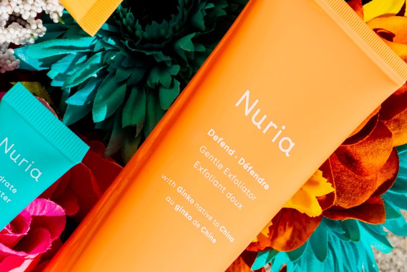 Nuria Beauty Defend Exfoliator Closeup