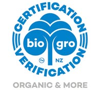 BioGro New Zealand Organic Certification Long