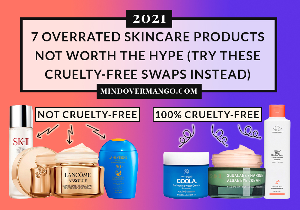 7 Overrated Skincare Products Dupes