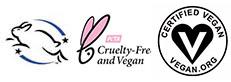 Leaping Bunny PETA Vegan.org Certifications