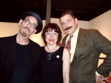 Jonathan Postal, Mary Long-Postal and Harold Toboggans