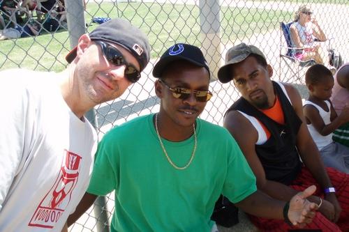 members of porter leath team - casa kickball