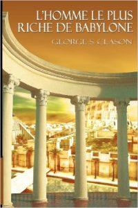 Couverture livre l'homme le plus riche de Babylone